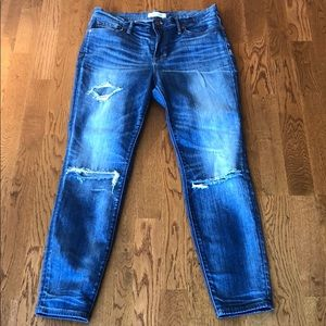 Madewell high-riser skinny jeans
